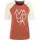 Maloja NotalaM. - Maillot manches courtes Femme - rouge/blanc